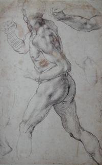 Michelangelo figure drawing