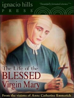 """The Life of the Blessed Virgin Mary  by Anne Catherine Emmerich  # LifeBlessedVirginMary  NOTE: This edition has a linked """"Table of Contents"""" and has been beautifully formatted (searchable and interlinked) to work on your Amazon e-book reader and your ipod e-book reader...  http://www.faithfulreads.com/2013/12/thursdays-christian-kindle-books-late.html"""