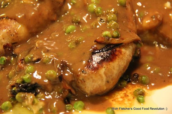 Bangers and Mash , with a nice pan gravy!