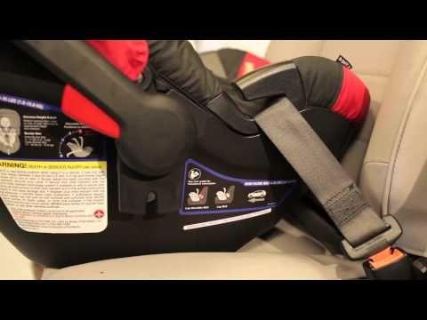 Britax B Safe 35 Elite Infant Car, Britax B Safe 35 Car Seat Base Installation With Belt