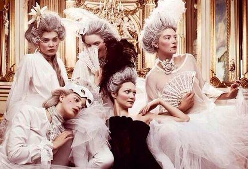 LES LIAISONS DE MARIE ANTOINETTE:  MARIE-ANTOINETTE BALLET COUTURE  JIMMY BACKIUS FOR SWEDISH ELLE