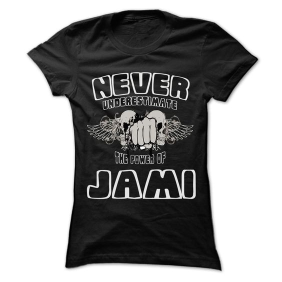 Nice T-shirts  Never Underestimate The Power Of ... JAMI - 999 Cool Name Shirt   - (3Tshirts)  Design Description: If you are JAMI or loves one. Then this shirt is for you. Cheers !!!  If you don't fully love this Shirt, you'll be able to SEARCH your f... -  #camera #grandma #grandpa #lifestyle #military #states - http://tshirttshirttshirts.com/lifestyle/best-price-never-underestimate-the-power-of-jami-999-cool-name-shirt-3tshirts.html Check...