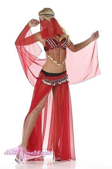Besuche uns gern auch auf dressme24.com ;-) Sexy Bauchtänzer Kostüm - Belly Dancer - Komplettes Kostüm bestehend aus. Unterfüttertem BH mit üppiger Perlen und Paillettenverzierung. Chiffon Rock mit offenen Seiten und Perlen/Paillettenverzierung. Schleier, Gürtel, Armtuch und Kopfschmuck. #Bauchtänzerin, #Damenkostüme, #Faschingskostüme