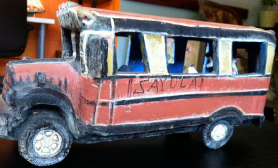 Antique Bus by CafeRoche on Etsy, $89.00