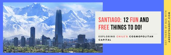 free things to do in Santiago de Chile when visiting by bus(Pinterest)
