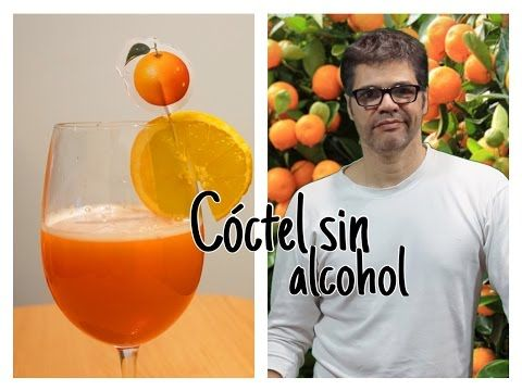 Cóctel sin alcohol - YouTube