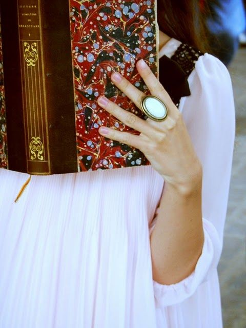 O anel.