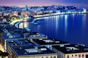 The lights of Naples' harbour at night will keep you up in amazement.