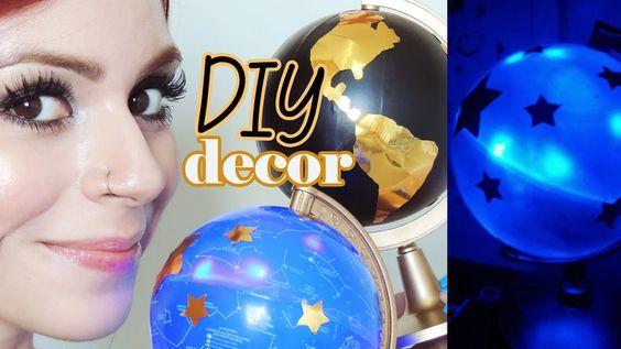 DIY: Globos para decorar seu quarto! Pinterest Inspired!