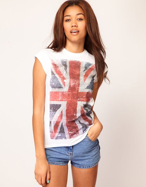 River Island Union Jack from asos