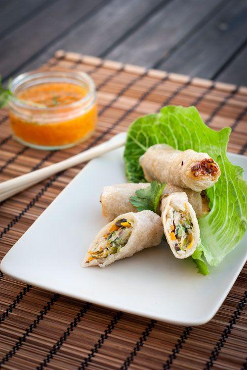 Nems poulet l gumes go on chicken and recipe Nems vietnamiens