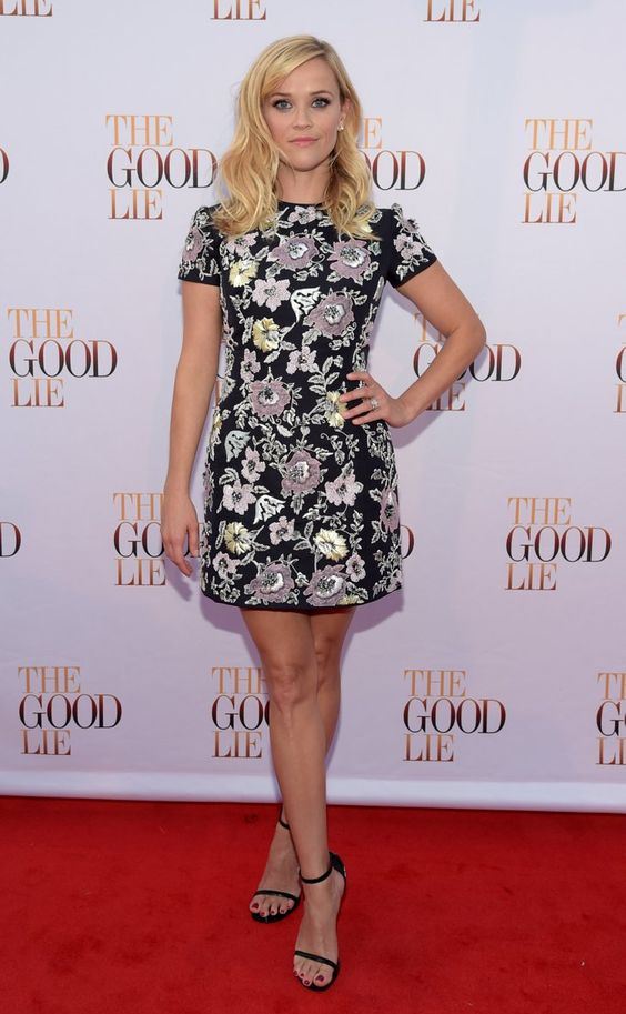 Pin for Later: We Hate to See Summer Go, but We Love to Watch It Leave Reese Witherspoon Reese Witherspoon at the Nashville premiere of The Good Lie.
