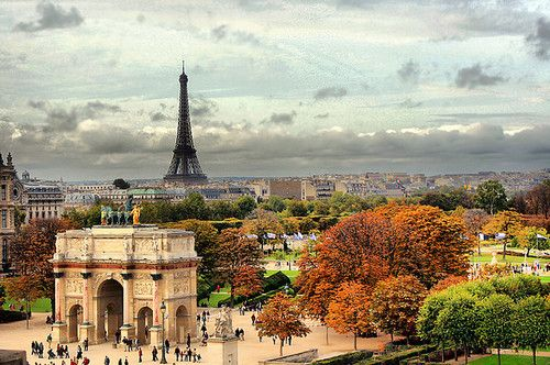 Autumn in Paris - Not a big fan of the French, but I think it would actually be pretty cool to see this