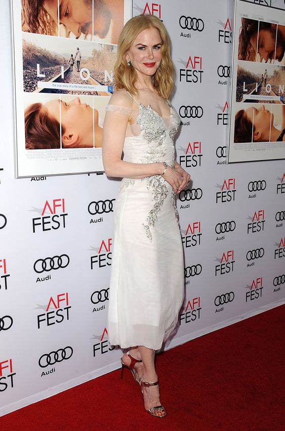 Nicole Kidman wearing TRUCE to the 'Lion' premiere during the AFI fest in Los Angeles.