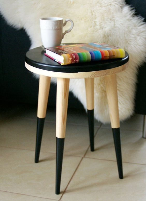 Check out this item in my Etsy shop https://www.etsy.com/listing/220212994/stool-side-table-stool-table-chair-small