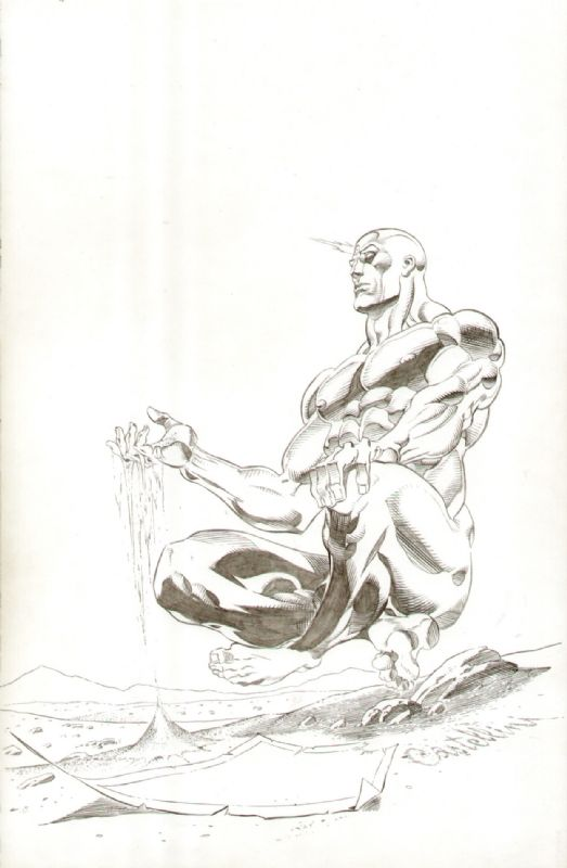 Dr.Manhattan by Claudio Castellini