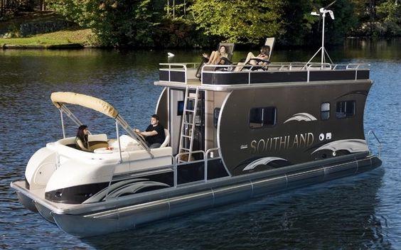 Southland boat présente le HRV Liberty, mi-bateau, mi-maison ...