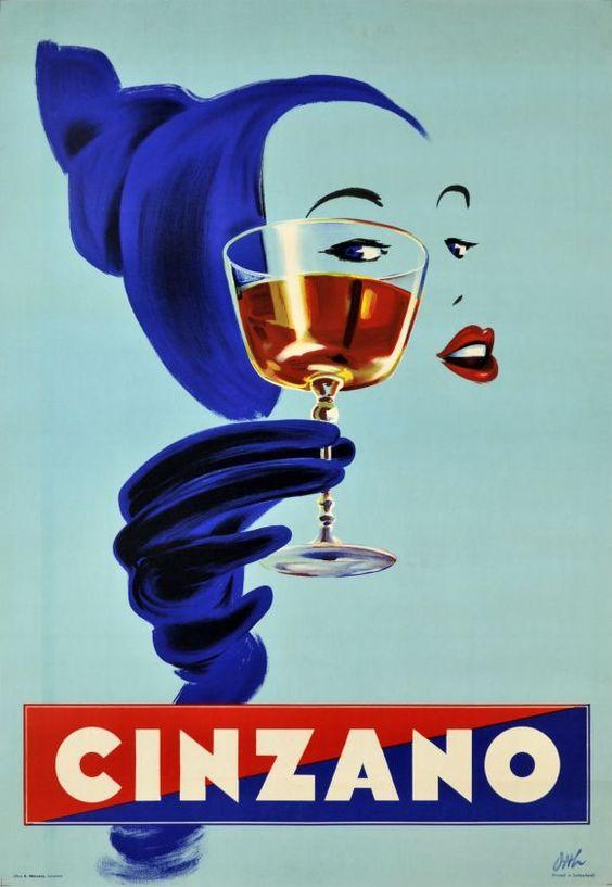 Cinzano vintage poster