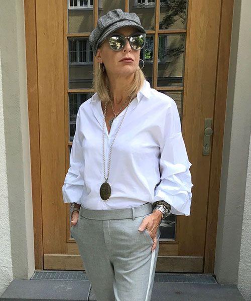 Weiße Blusen... - Fashion