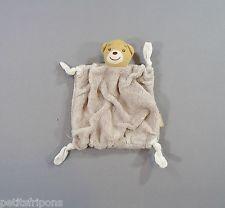 Doudou plat Ours plume gris Kaloo (1998 - 2011) 23 cm