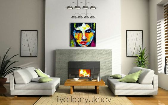 "ilya konyukhov ""Maru"" canvas/acrylic 2014 30*40 cm   #art #popart #modern art #modernart #pop art #portrait #colorful #girl"