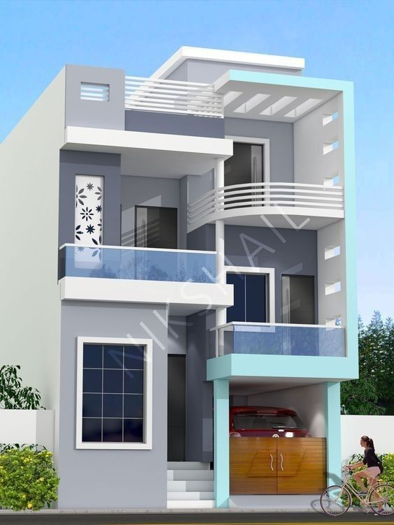 25 Top Modern Home Exterior Designs In 2020 Bungalow House Design 3 Storey House Design Duplex House Design