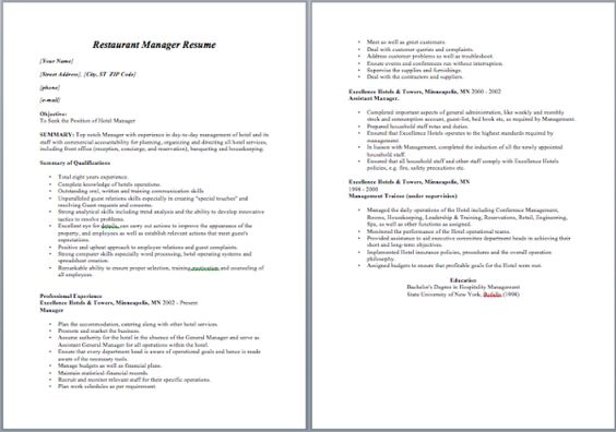 Applied Behavior Analyst Resume Resume \/ Job Pinterest - restaurant resumes