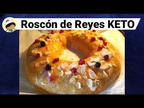 Roscón De Reyes Keto Cetogenico Sin Gluten Recetas De Postre Keto Comidas Sin Carbohidratos Comida Para Diabeticos Recetas