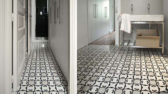Tile design cement and mosaics on pinterest for Carrelage 7x7