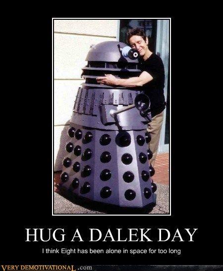 National hug a Dalek day!