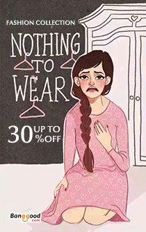Banggood - Brasão Mulheres Moda online