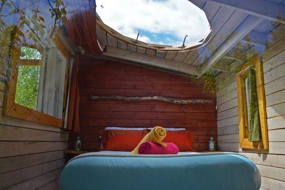 Canopée Lit : cabanes perchées.  MargauxValletPhotographies