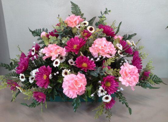 Flores En Todos Los Santos Yyoconestasflores Arreglos Florales Sencillos Ramos De Flores De Ataúd Flores