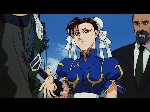 Guile Meets Chun Li Street Fighter Ii The Animated Movie