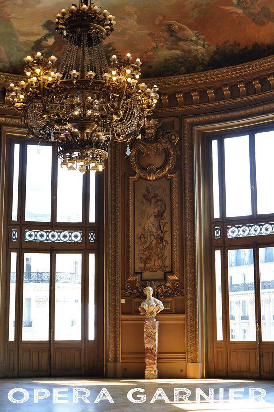 Le merveilleux Palais Garnier, une visite à faire à Paris, absolument !