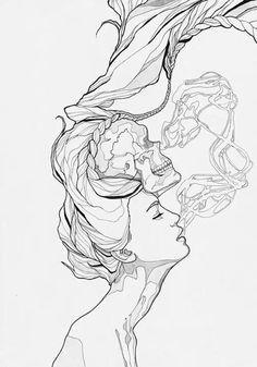 smoke drawings | Tumblr | We Heart It