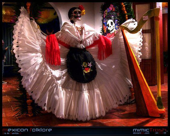 Dia de Muertos 2 Catrinas, dodendans Mexico