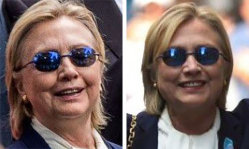 'Hillary's body double' trends after previously limp Clinton spryly pops out of daughter's apartment