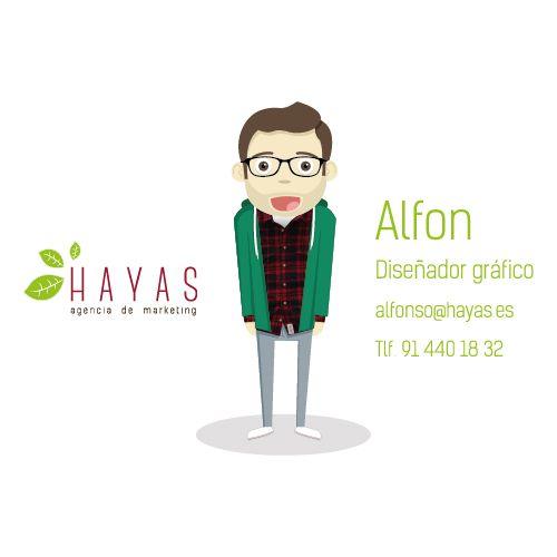 Alfon - Diseñador Gráfico e Ilustrador #equipo #hayas #madrid