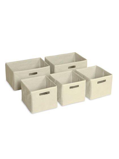 $25 Guidecraft Storage Baskets Set of 5