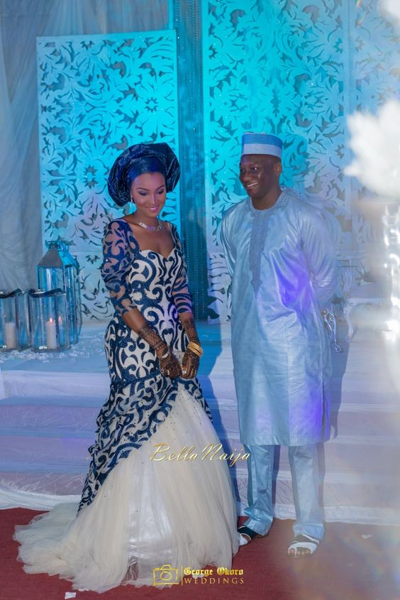 Muneerah & Umar | Kano - Hausa Muslim Nigerian Wedding - George Okoro Photography | BellaNaija |.George Okoro-32