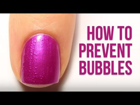 Nail Polish 101 How To Prevent Bubbles In Your Nail Polish And Top Coat Kelli Marissa Youtube Bubbles In Nail Polish Nail Polish Fix Nail Polish