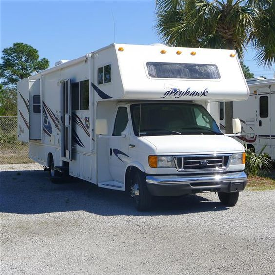 used 2006 jayco greyhawk class c motorhomes for sale in gulf breeze fl gb475149c camping. Black Bedroom Furniture Sets. Home Design Ideas