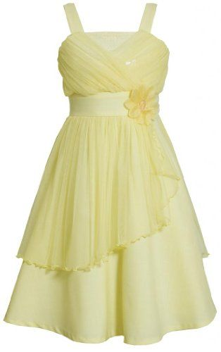 yellow dress for girl party
