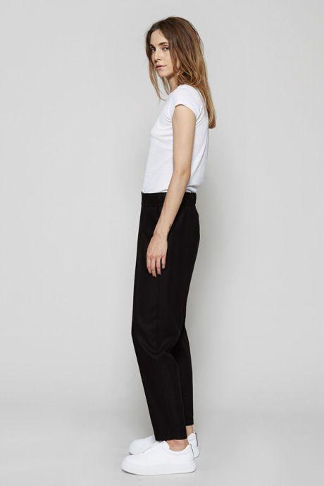 Raquel Allegra | Silk Twill Easy Pant | MYCHAMELEON.COM.AU