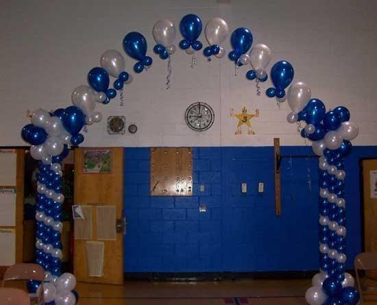 Como decorar con globos una graduación , Imagui