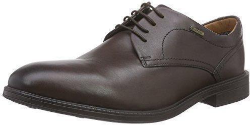 Scimitar - Zapatos de cordones para hombre negro negro 48 G2zJIz