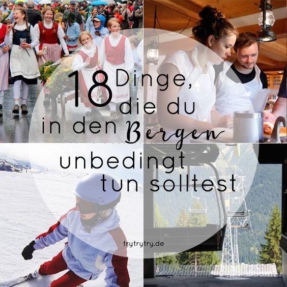 Travelguide für Graubünden im Sommer und Winter