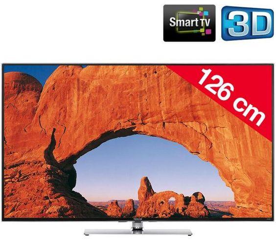 T l viseur led pixmania promo tv led pas cher la sharp aquos lc 50le761e t l - Discount televiseur led ...