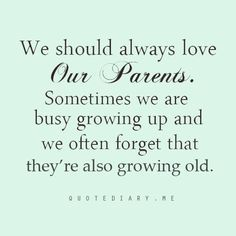 should a child take care of their parent - Google Search